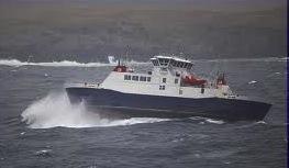 The Yell ferry Dagalien - the islanders it serves face a bumpy future