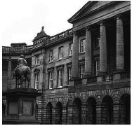 Parliament House, seat of the Edinburgh Court of Session