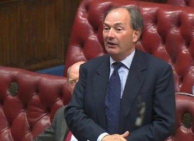 Lord Forsyth of Drumlean Photo BBC