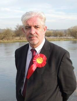 Labour hopeful Gerry McGarvey, an aide to the party's Stirling MP Ann Maguire.