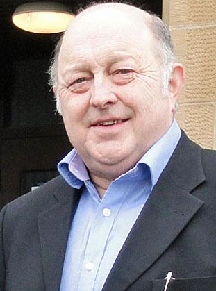 Charitable trust chairman Bobby Hunter.