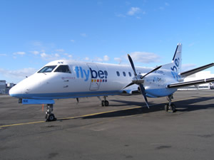 Loganair has been flying under the Flybe logo for years - but there is increasing acrimony between the two airlines as they prepare to go head-to-head on several key Scottish island routes from 1 September.