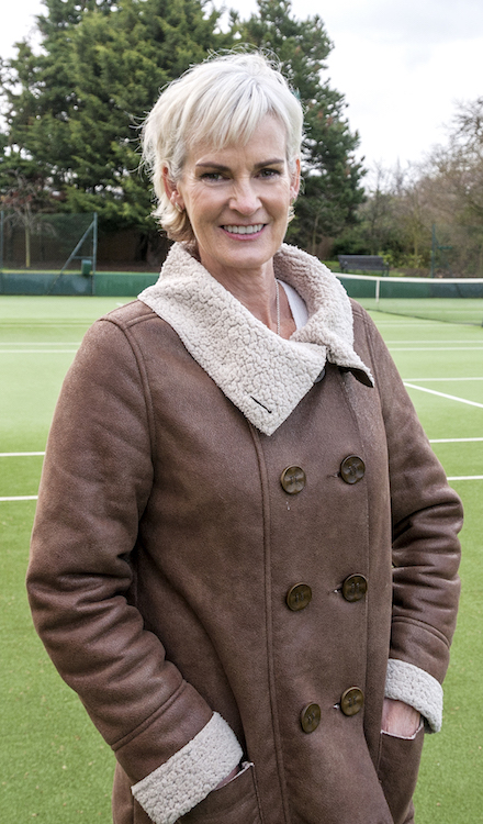 Judy Murray, mother of Scottish tennis star Andy Murray, has released her autobiography earlier this year. Photo: Marc Atkins