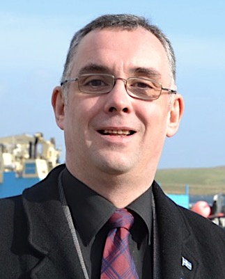 "Lerwick North councillor John Fraser: """"We have a moral duty to do what we can to alleviate the suffering of the displaced and the oppressed."""