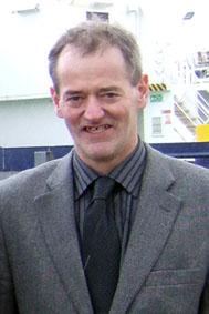 Leslie Tait of Shetland Fishermen's Association.