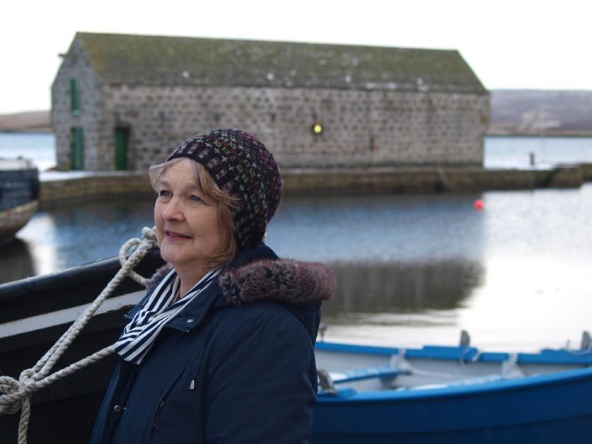 Elizabeth signs on as Wool Week patron | Shetland News