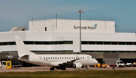 Sumburgh Airport is one of 11 airports under HIAL's wing.