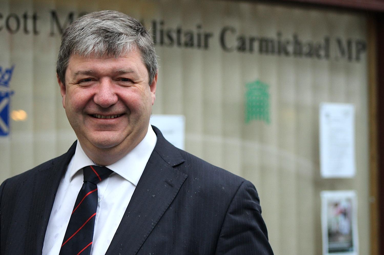 Carmichael raises Co-op concerns in parliament