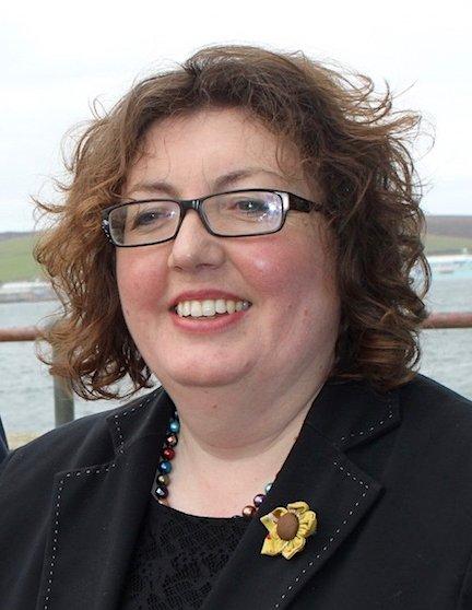 HIE area manager for Shetland, Rachel Hunter.