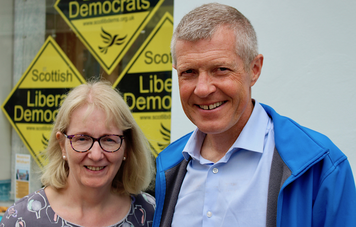 A vote for the Lib Dems is a vote for Covid recovery, leader Rennie says