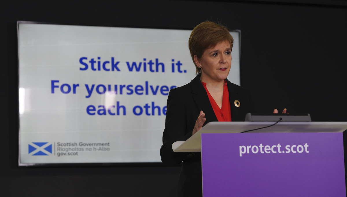 Not 'sensible' to accelerate easing of local Covid restrictions just yet, first minister says