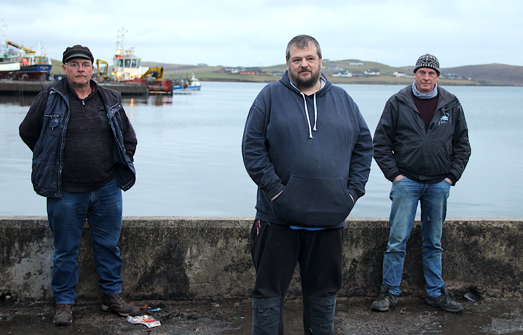 Shellfish men aggrieved at way the sector is managed locally