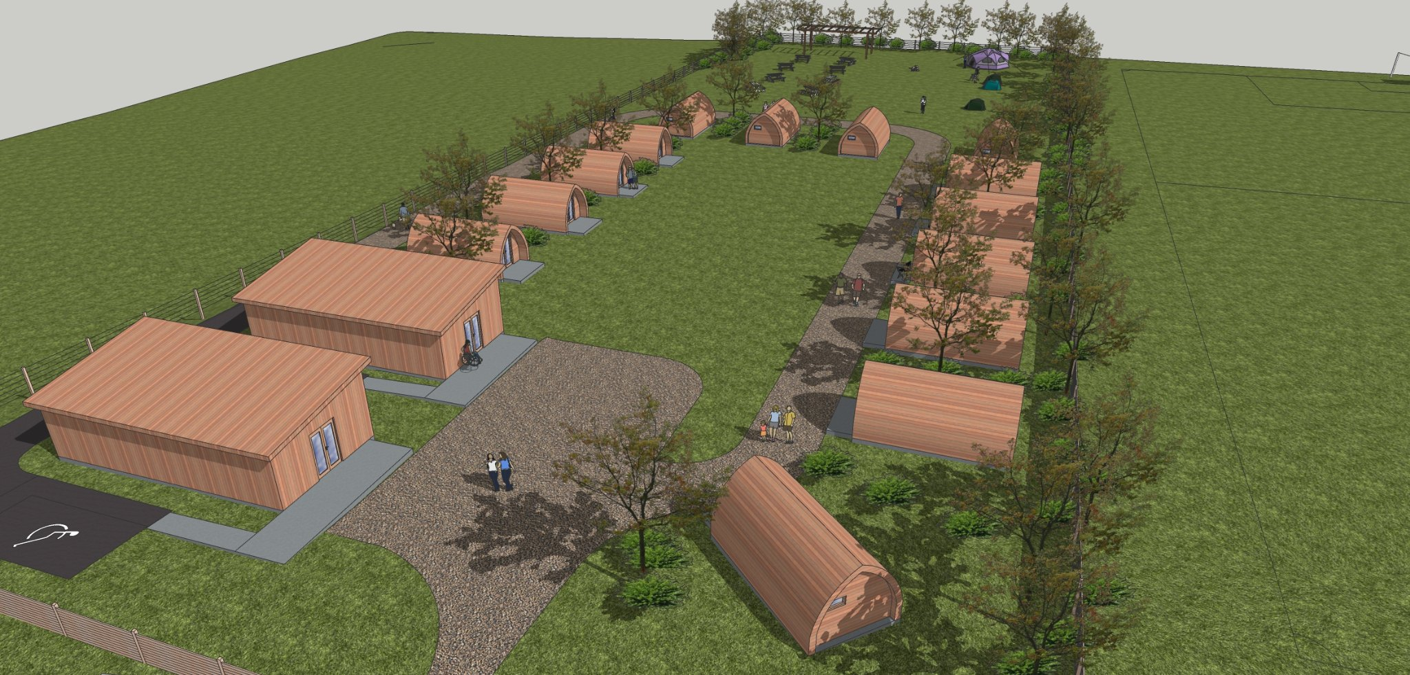 Recreational trust plans holiday park in Unst