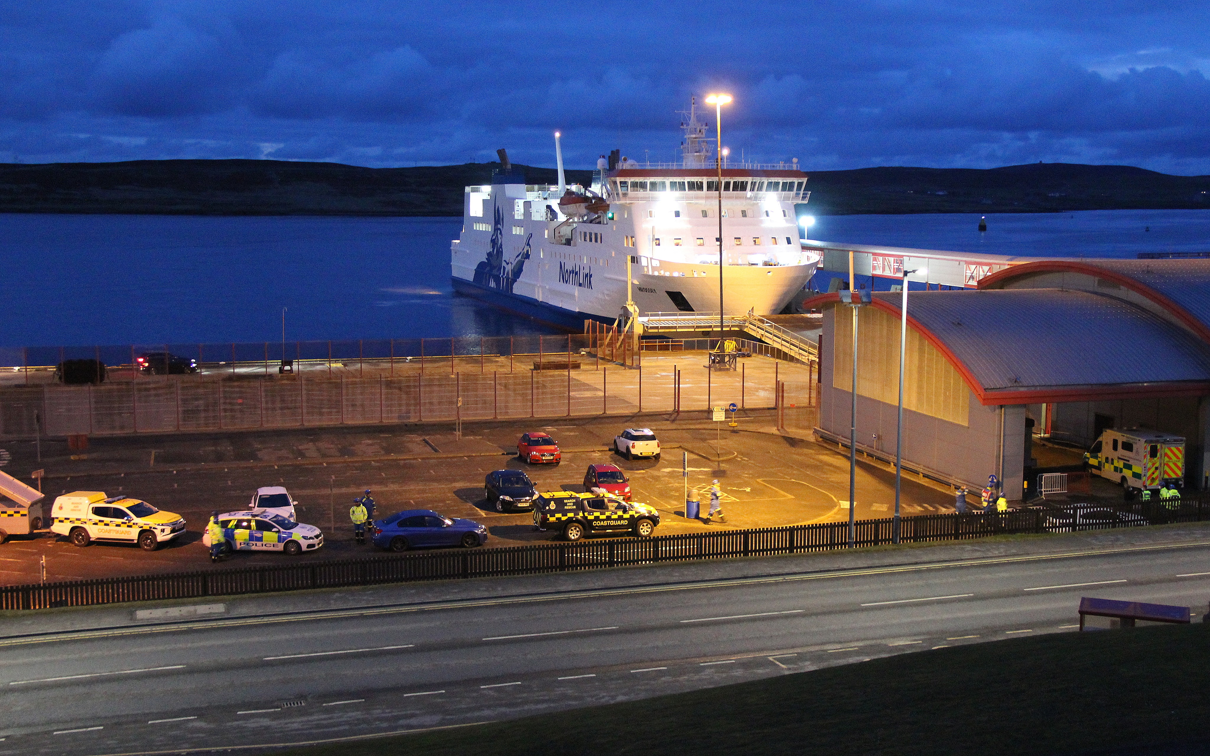 NorthLink ferry returns to harbour