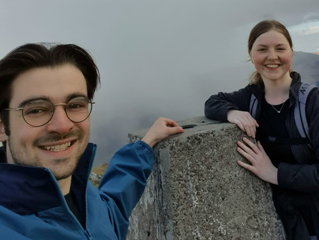 Couple to take on West Highland Way to raise money for sight loss charity after family diagnosis